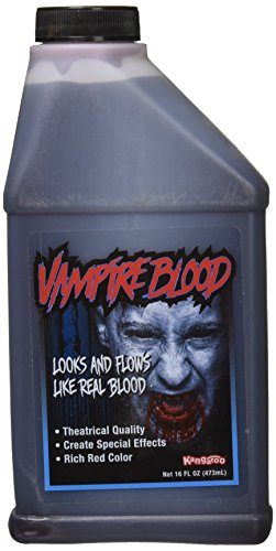 Halloween Fake Blood (Pint of Blood; Halloween, Vampire Blood; 16 Oz)