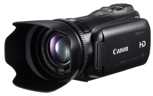 Canon デジタルビデオカメラ iVIS HF G10 IVISHFG10 光学10倍 光学式手ブレ補正 内蔵メモリー32GBの商品画像