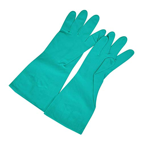 JOOIH Dishwashing Kitchen Magic Rubber Gloves Household Kitchen Garden Cleaning Gloves Home Cleaning Gloves #4M11 Green L from JOOIH