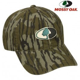 Mossy Oak Heavy Washed Cap- -