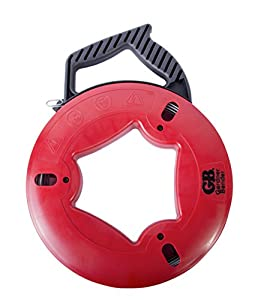 4. Gardner Bender FTS-250R Fish Tape, 250 ft, Plated Carbon Steel, UpperHand with Rubber Grip