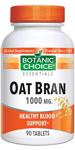 - Botanic Choice Oat Bran 1,000 mg, 90 Tablets (Pack of 4)