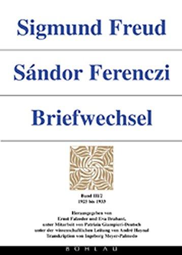 Sigmund Freud - Sándor Ferenczi. Briefwechsel: Briefwechsel, 6 Bde., Bd.3/2, 1925-1933
