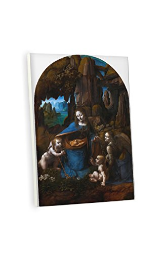 [Niwo ART (TM) - Virgin of the Rocks (London version), by Leonardo DaVinci, Oil painting Reproduction - Giclee Wall Art for Home Decor, Gallery Wrapped, Stretched, Framed Ready to Hang] (Hamiltons Theatrical Dance Costumes)