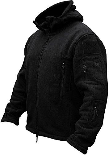 TACVASEN Men's Tactical Fleece Jacket ()