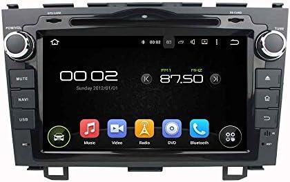 KUNFINE Android 9.0 8核自動車GPSナビゲーション マルチメディアプレーヤー 自動車音響 本田 HONDA CRV 2006 2007 2008 2009 2010 2011自動車ラジオハンドル制御WiFiブルースティスト
