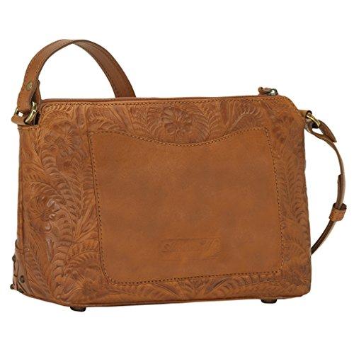 Body Purse Golden Leather Bundle Holder West Dove Handbag Canyon American Cross Tan Tat1nXcxTq