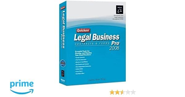 Amazon.com: Quicken Legal Business Pro 2008 [OLD VERSION]