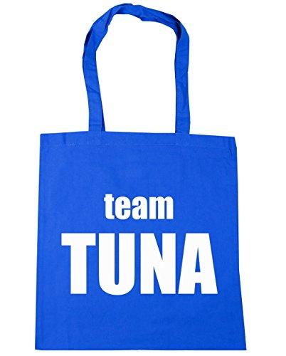 x38cm Tote office Team Cornflower Blue HippoWarehouse Beach Shopping 42cm Gym Tuna 10 Bag litres zZCWq