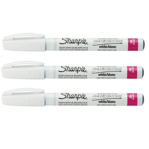 Fine Point Paint Marker [Set of 3] Color: White
