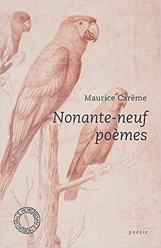 Nonante Neuf Poèmes Espace Nord Amazones Maurice Carême