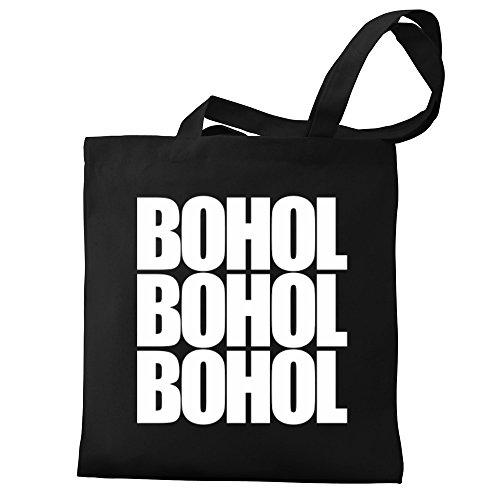 Bohol Tote Eddany three Eddany Bag Canvas words three Canvas Bohol words qwwxaXfO