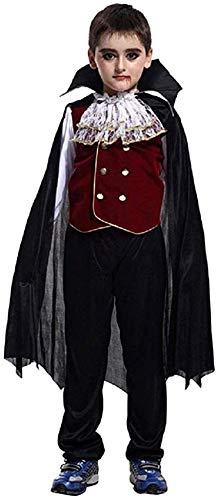 Comprar Disfraz Vampiro para Niños Halloween Disfraces Vampiros Capa Crepúsculo - Tienda ONline - Envíos Baratos o Gratis