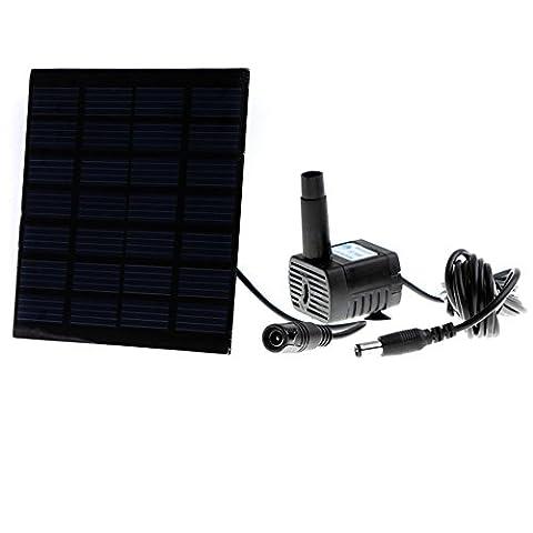 Anself Smart Solar Pump for Garden Pond Plants Fountain Solar-powered Water Pump - Smart Solar Fountain