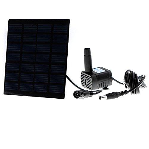 Anself Smart Solar Pump for Garden Pond Plants Fountain Solar-powered Water Pump (Solar Powered Fountain)