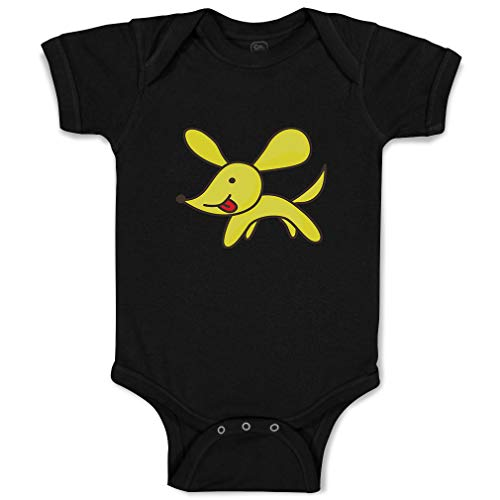 Custom Boy & Girl Baby Bodysuit Dog Toy Animals Funny Cotton Baby Cloths Black Design Only 6 Months