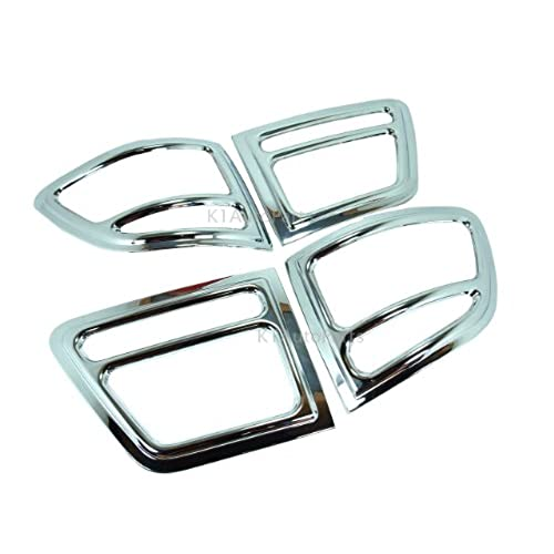 Chrome Tail Light Surround Cover Trim Toyota Fortuner 2005 - 2007
