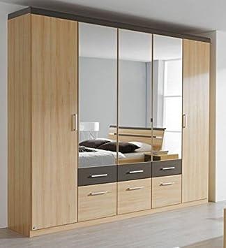 kleiderschrank 5 t rig buche bestseller shop f r m bel und einrichtungen. Black Bedroom Furniture Sets. Home Design Ideas