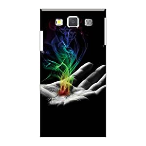 Samsung Galaxy A3 Spm13026uvBS Provide Private Custom Colorful In Flames Band Image Shock Absorbent Hard Cell-phone Case -LisaSwinburnson