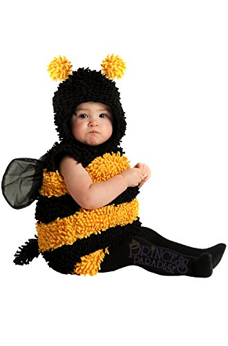 Princess Paradise Baby's Stinger The Bee Deluxe Costume, As Shown, 6 to 12 (Bee Costume For Baby)