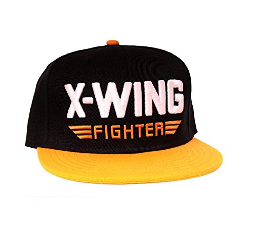 Star Wars Baseball Cap Force Awakens X Wing Fighter Official Snapback Black