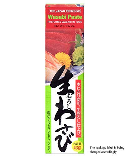 [JAPAN PREMIUMS] WASABI PASTE - Authentic Japanese Horseradish with Rich Flavor & Strong Pungency
