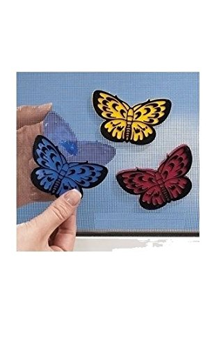 (TV Time Butterfly Screen Patches (Set of 12) )