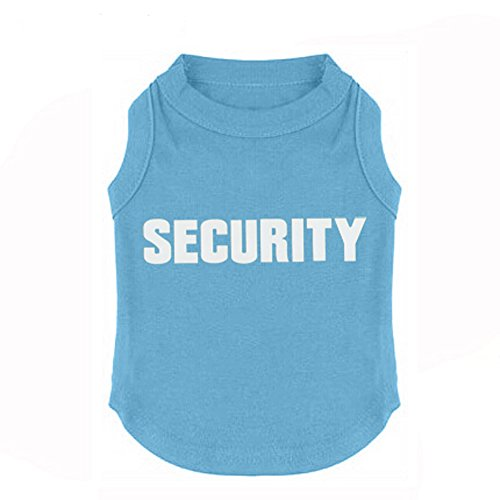 Fashion-Shop-Pet-Coat-SECURITY-Letters-Cotton-Dog-Waistcoat-Puppy-T-shirt-BlackBuePinkRed-for-Choice