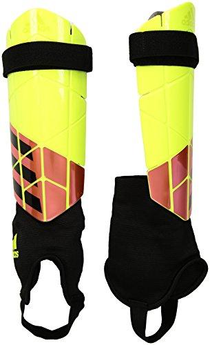 adidas X Reflex Shin Guards, Solar Yellow/Solar Red/Black, Large ()