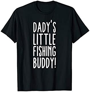 Cool gift Daddy's Fishing Buddy Fishing  Women Long Sleeve Funny Shirt