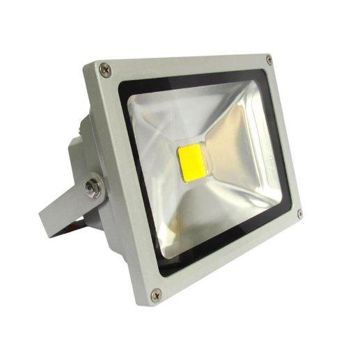 Foco proyector MicroLED de 30w Ledbox, luz blanca cálida