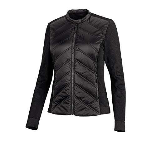 Harley-Davidson Official Women's Quilted Stretch Nylon Jacket, Black (Large)