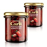Carli Sun Dried Tomatoes. Two 280 Gram (10 oz.) jars.