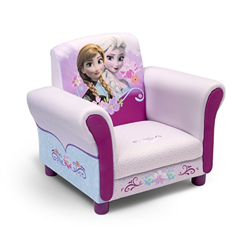 Princess Chair - Delta Children Upholstered Chair, Disney Frozen