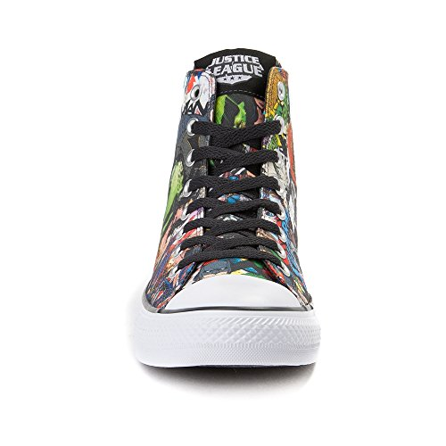 Hi CTAS White Trainers Adults' 9592 League Unisex Comics Justice Top Converse Black RBqEIY