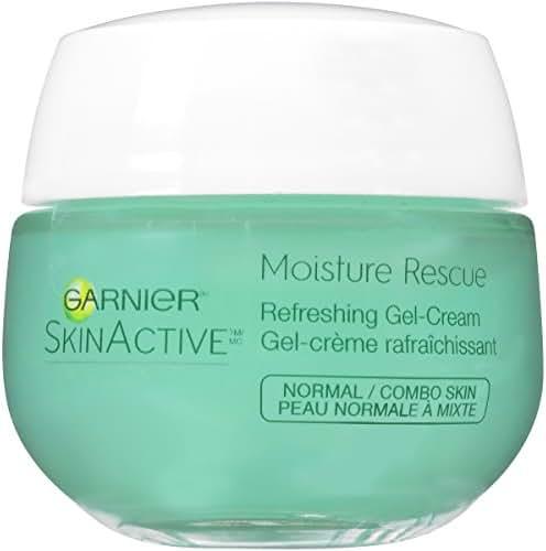 Garnier SkinActive Moisture Rescue Face Moisturizer, Normal/Combo,  1.7 oz.