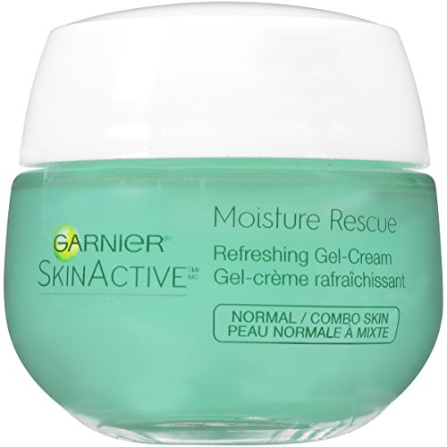Garnier SkinActive Moisture Rescue Face Moisturizer, Normal/Combo,  1.7 oz. (Best Facial Moisturizer For Smooth Skin)