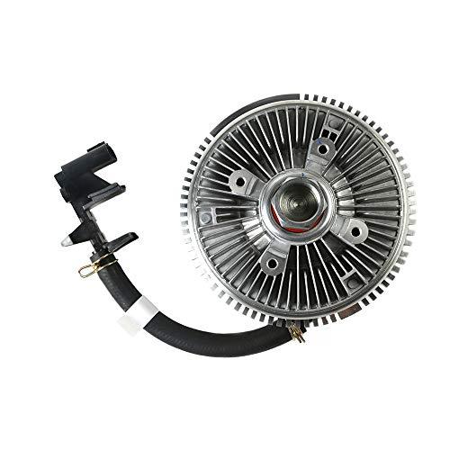 - MOCA Engine Cooling Fan Clutch for 02-09 GMC Envoy & Chevrolet Trailblazer & 04-07 Buick Rainier & 02-04 Oldsmobile Bravada 4.2L L6 Gas DOHC