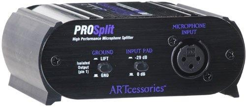 Mic Splitter Transformer - ART ProSplit High-Performance Transformer Isolated Microphone Splitter