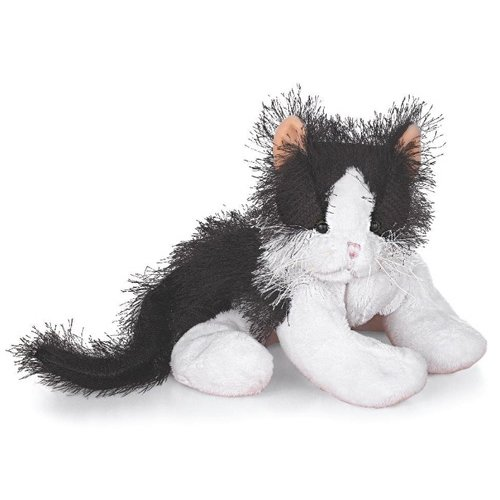 Ganz Webkinz Black and White Cat, (HM016)