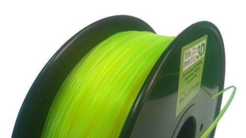 3D impresora incandescencia PLA 1,75 mm - amarillo fluorescente ...