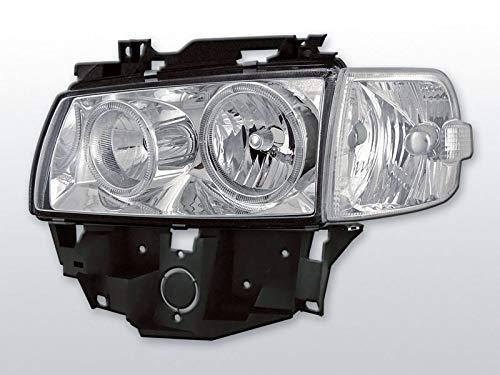 Angel Eyes Scheinwerfer in chrom langer Vorderwagen T4 08.96-03.03 BUS Multivan Caravelle