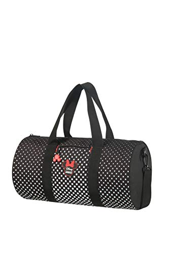 American Tourister Urban Groove Disney Travel Bag, 43 cm, 20.5 Litre, Minnie Mouse Polka Dot
