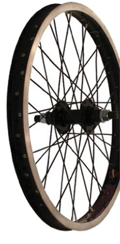 - Sta-Tru Alloy Bmx 14Mm Flip-Flop Black Hub Rear Wheel (20X1.95-Inch)