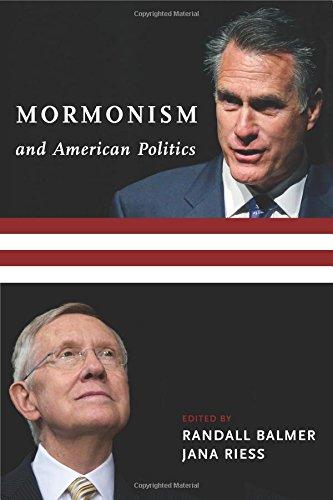 Download Mormonism and American Politics (Religion, Culture, and Public Life) ebook