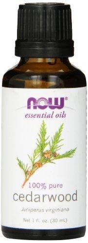 Virginiana Essential Oil - Now Foods Cedarwood Oil 1 ounce (Pack of 2)