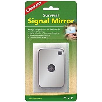 "Coghlans Signal Mirror, Silver, 2"" x 3"""