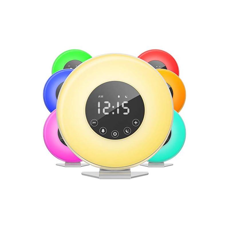 hOmeLabs Sunrise Alarm Clock - Digital L