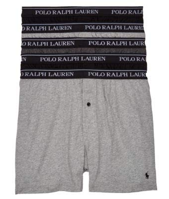 POLO RALPH LAUREN Classic Fit w/Wicking 5-Pack
