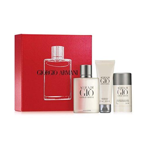 Acqua Di Gio For Men By Giorgio Armani Gift Set ()